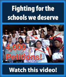Fighting for Schools We Deserve