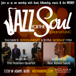 Jazz for the Soul - Square Flyer for social media and bulletin