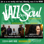 Jazz for the Soul - Square Flyer for social media and bulletin - 06-12-14
