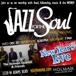 Jazz for the Soul - Square Flyer for social media and bulletin 12-31-2014