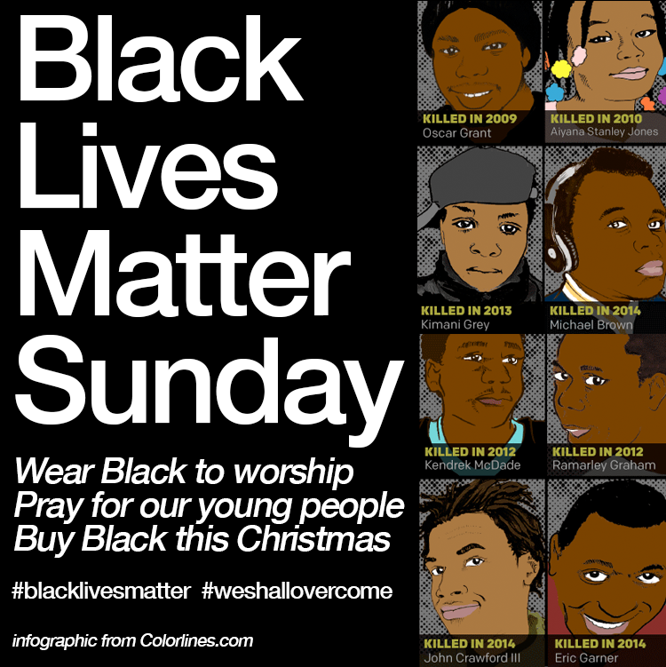 black lives matter sunday
