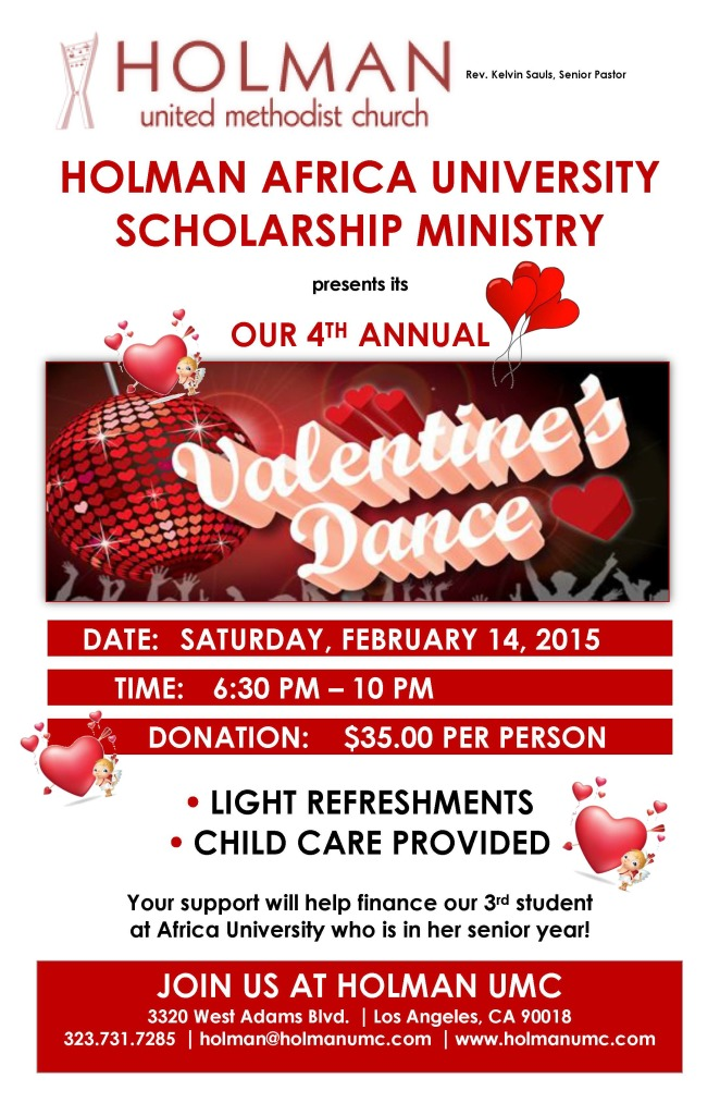 Valentine S Dance Scholarship Benefit For Africa