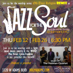 Jazz for the Soul - Flyer for February 2015-2