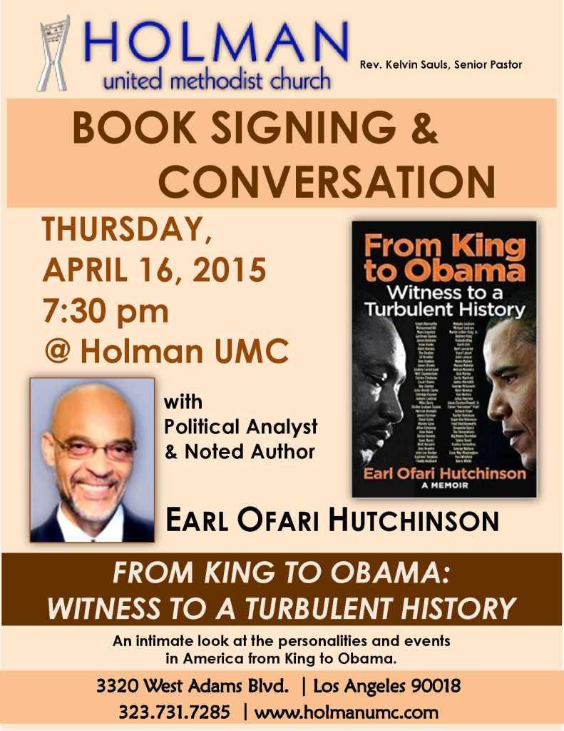 BOOK SIGNING - EARL OFARI HUTCHINSON