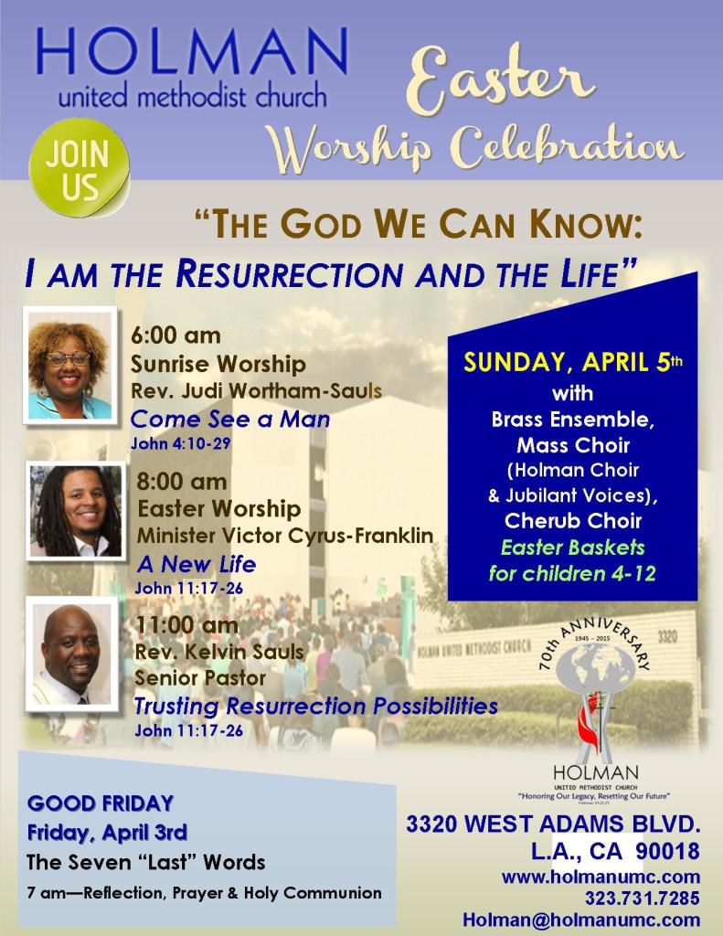 EASTER SUNDAY FLYER - 2015