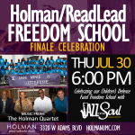 Jazz for the Soul - Freedom School Finale 07-30-2015