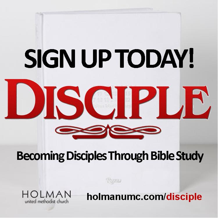DISCIPLE AD