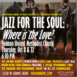 Jazz for the Soul - Where is the Love 2 - October 2015