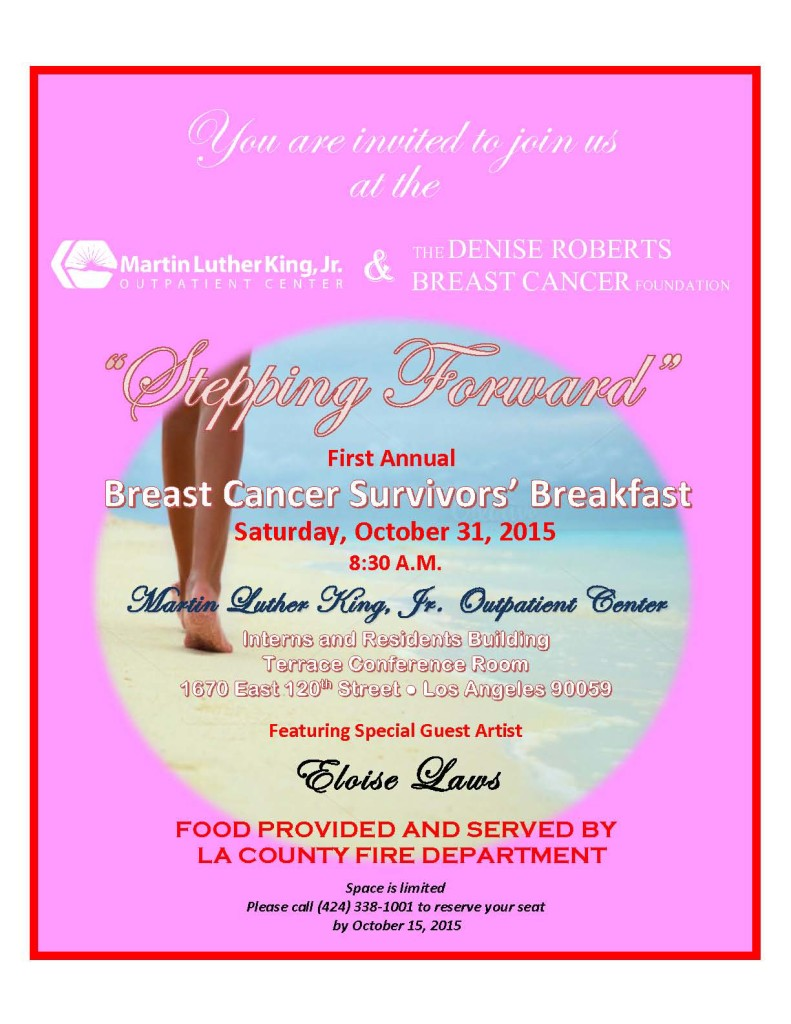 Flyer - Survivors Breakfast