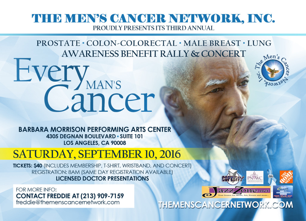 September Event-Every Man's Cancer