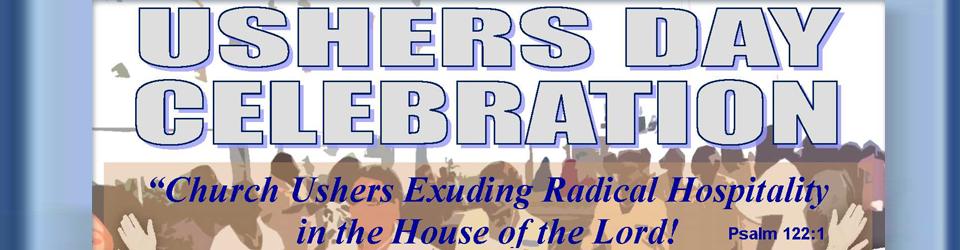 2016 Ushers Day Celebration - Holman United Methodist Church