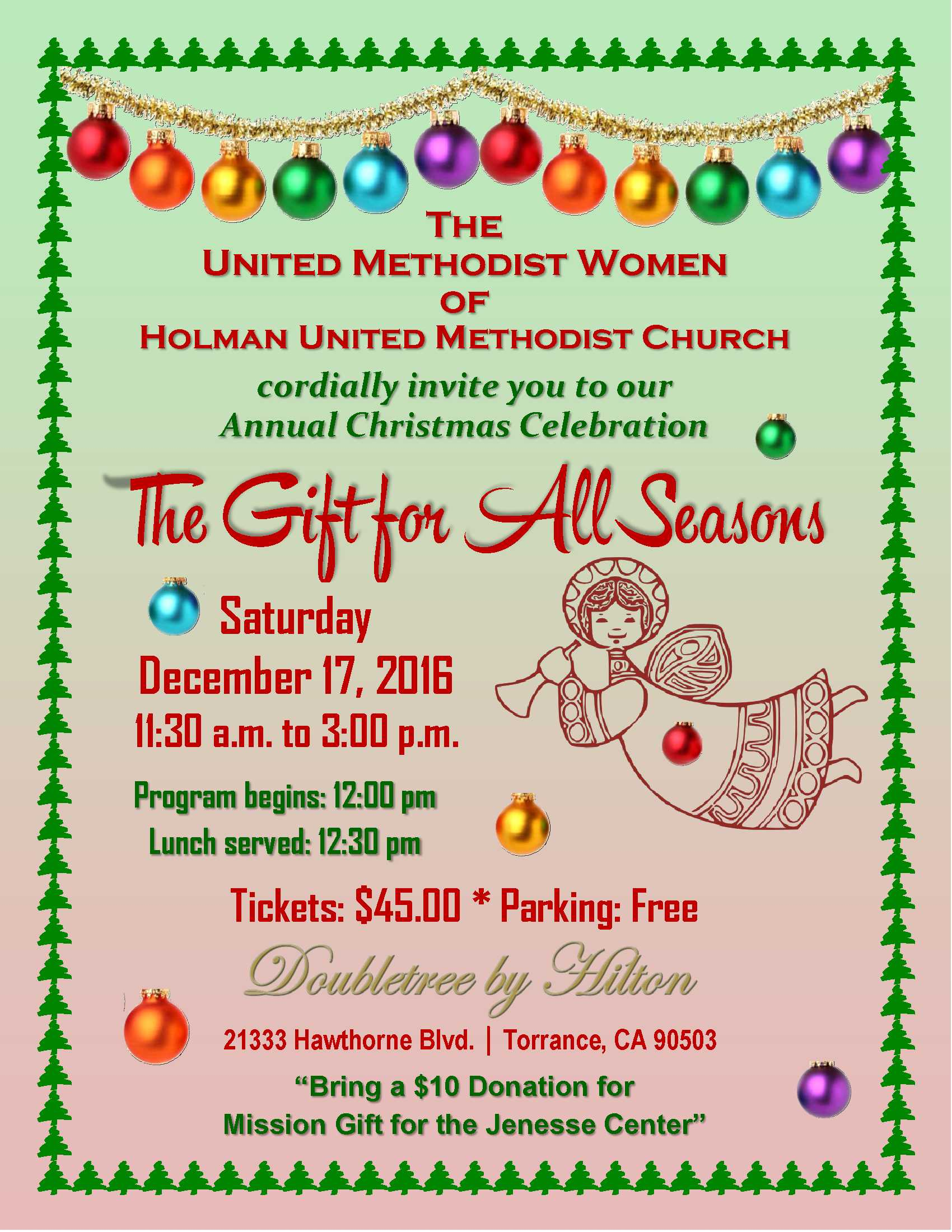 Annual Christmas Celebration – The Gift for All Seasons - Holman ...