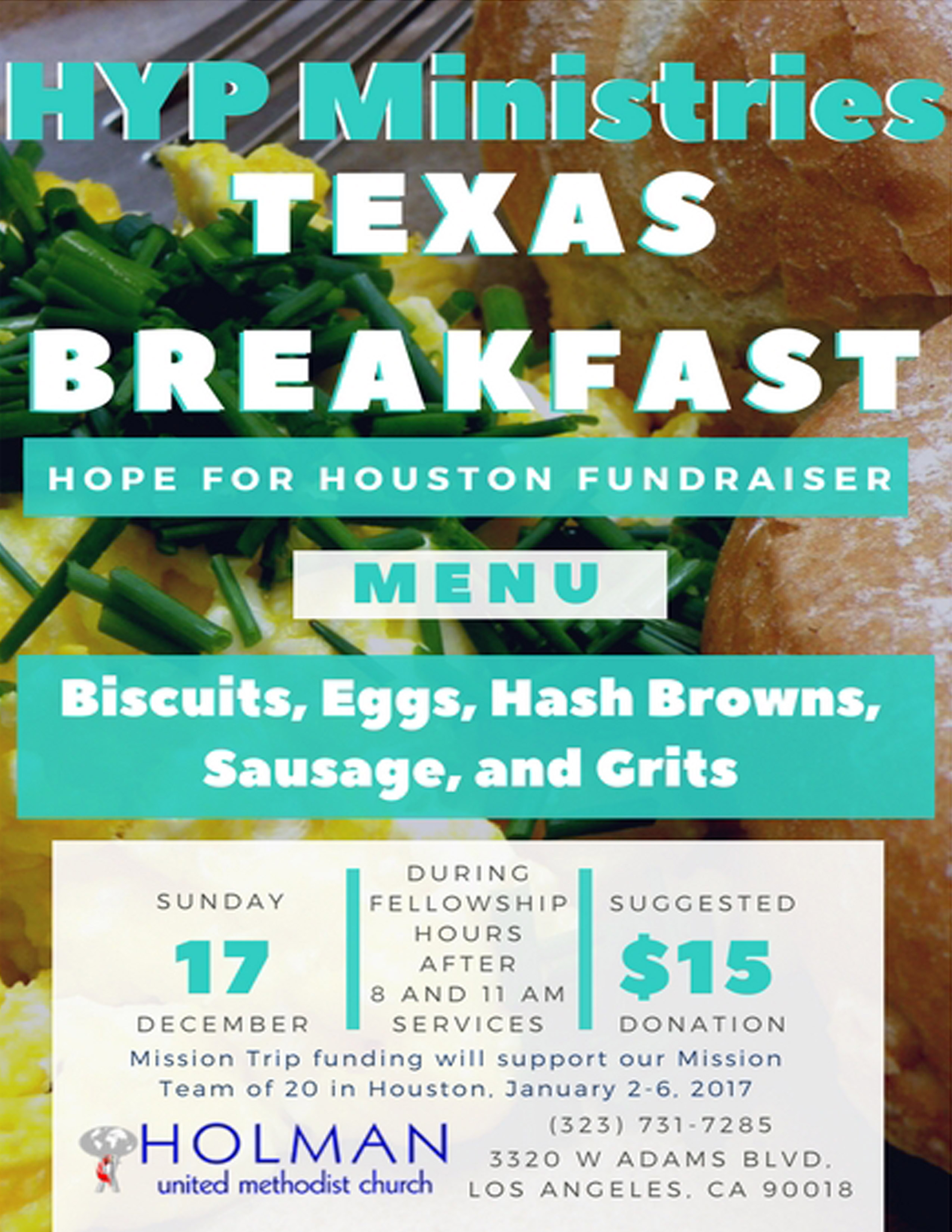 HYP Ministries Texas Breakfast: Hope for Houston Fundraiser – Holman