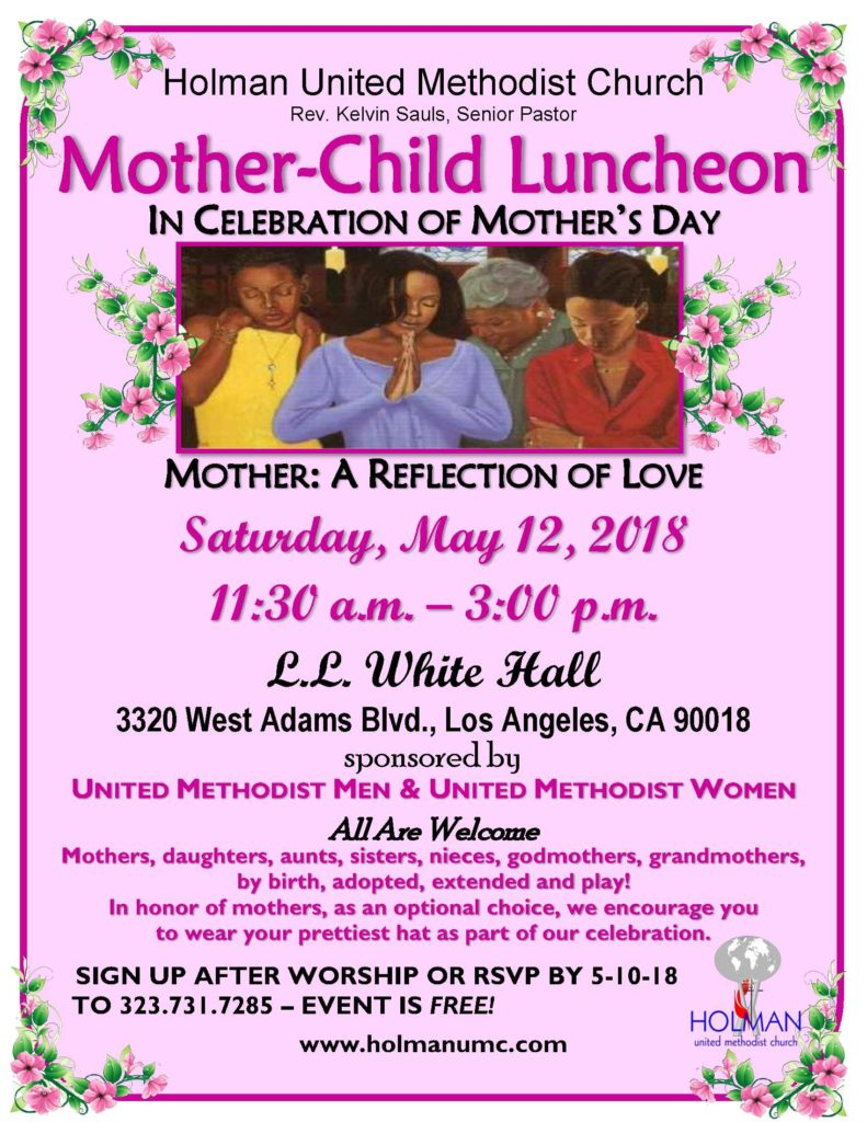 mother-child luncheon