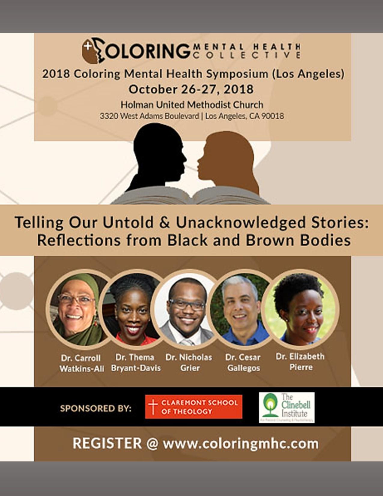2018 Coloring Mental Health Symposium Los Angeles – Holman