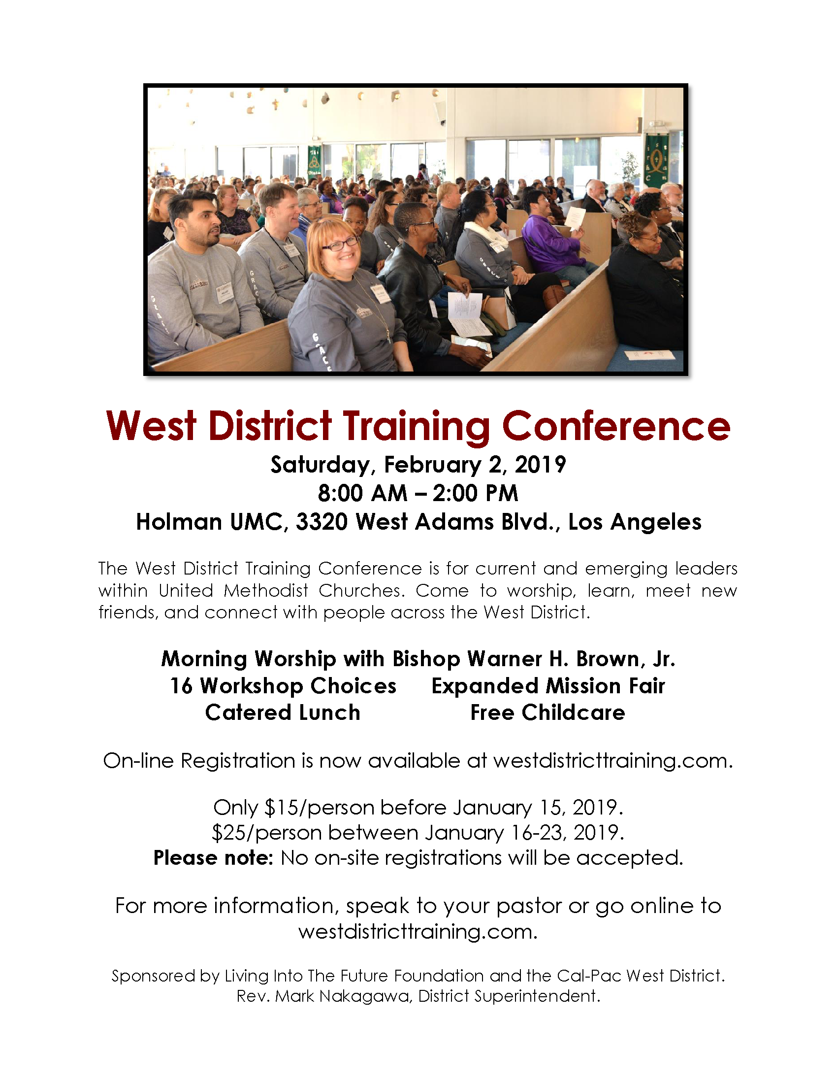 West District Training Conference 2019 – Holman United Methodist Church